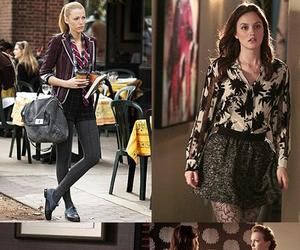 fashion, gossip girl, and outfits image