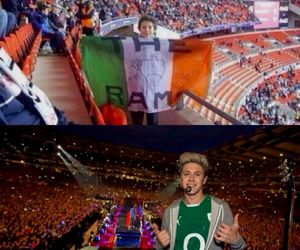 niall horan, one direction, and croke park image