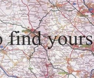 yourself, find, and map image