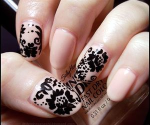 nail art and nail polish image