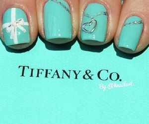 nails, tiffany, and nail art image