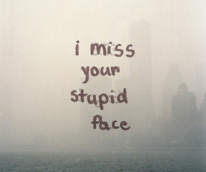 i miss you and stupid love image