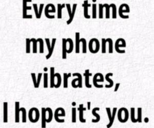 phone, quote, and love image