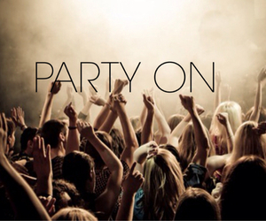 inspiration, party, and life image