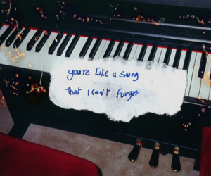 photography, piano, and quote image