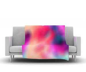 blanket, couch, and decor image