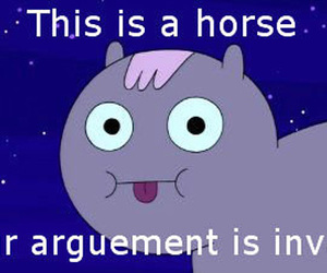 adventure time and horse image