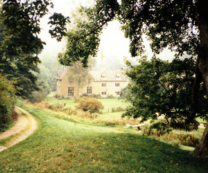 house, nature, and england image