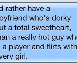 boyfriend, dorky, and text image