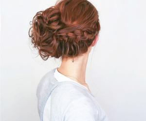 hair, braid, and hairstyles image