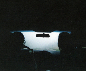 car, dark, and indie image