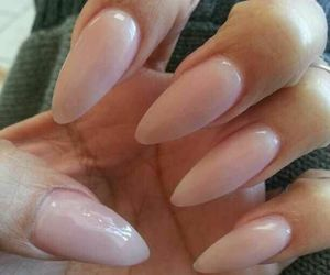 dope, nails, and light pink image