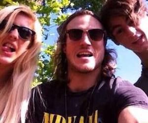 dougie poynter, McFly, and Ellie Goulding image