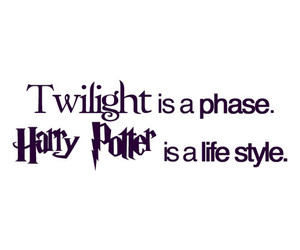 harry potter, life, and twilight image