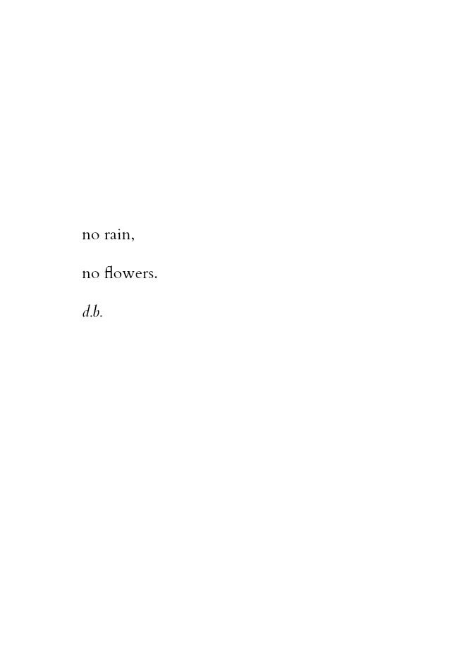 no rain, no flowers. discovered by Julie ∞ on We Heart It