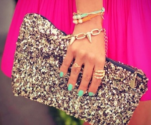 accessories, clutch, and Prom image