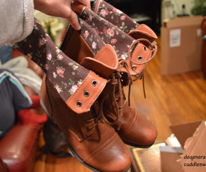 boots, fashion, and want image