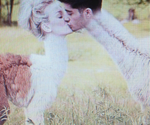 1d, zayn malik, and perrie edwards image