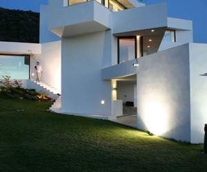 swimming pool, architecture., and house design image