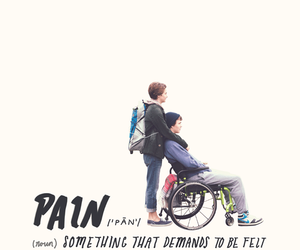 tfios, the fault in our stars, and pain image