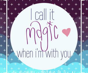 coldplay, magic, and love image