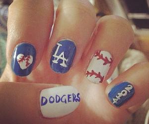 baseball, dodgers, and la image