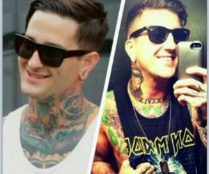 austin carlile, of mice and men, and mitch lucker image