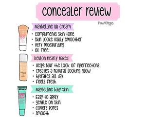 make up, concealer, and make up tips image