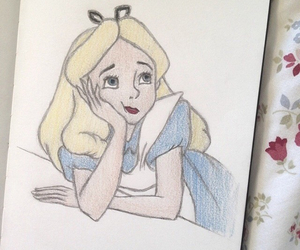alice, wonderland, and the_lovely_drawing image