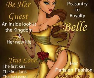 belle, vogue, and disney image