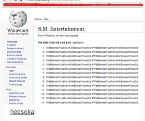 exo, wikipedia, and sm ent image