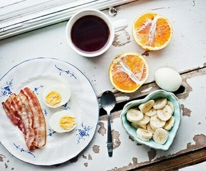 bacon, FRUiTS, and breakfast image