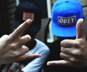 guy, boy, and obey image