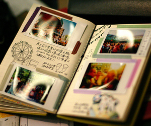 art, notebook, and diary image