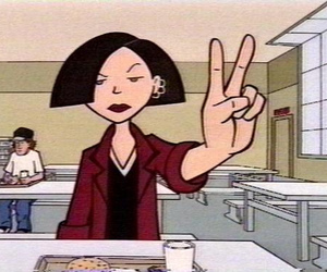 90s, peace, and Daria image