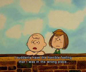 quotes, charlie brown, and text image
