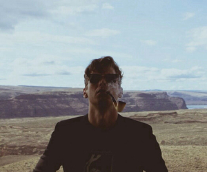 mark foster, foster the people, and smoke image