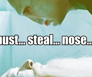 harry potter, nose, and voldemort image