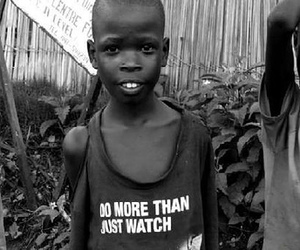 africa, black and white, and children image