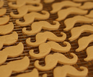 Cookies, mustache, and moustache image