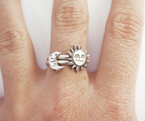 sun, moon, and ring image
