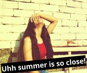 summer, summer is close, and uh image