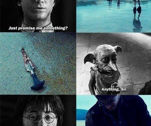 cry, harry potter, and deathly hallows image