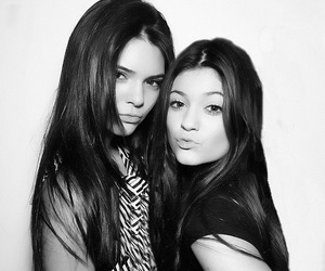 kylie jenner, sisters, and kendall jenner image
