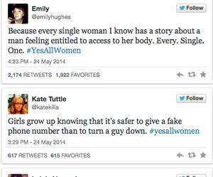 feminism, feminist, and twitter image