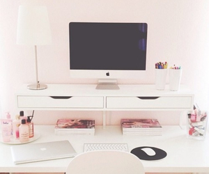 room, pink, and apple image