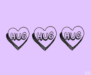 hug, heart, and cute image