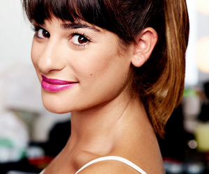 lea michele, glee, and brunette ambition image