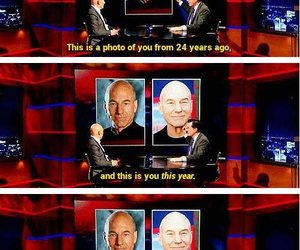 funny, x-men, and patrick stewart image