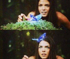 the 100, octavia blake, and butterfly image